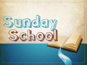 Sunday School/Dialogue Hour